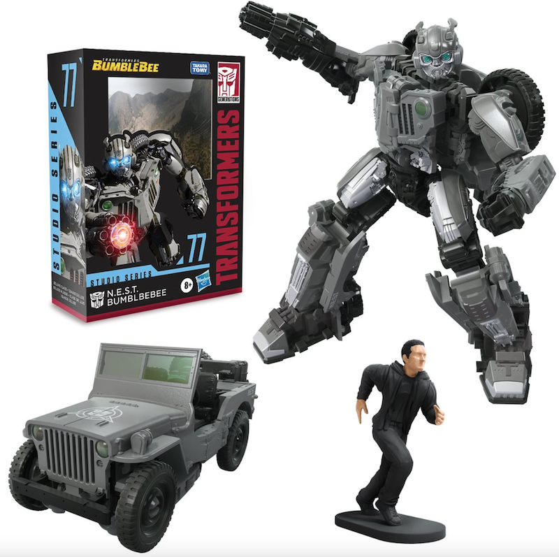 Hasbro Transformers Studio Series 77 Deluxe N.E.S.T. Bumblebee Figure Pre-Orders