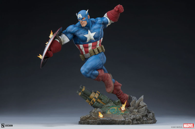 Sideshow Collectibles Marvel Comics – Captain America Premium Format Figure Pre-Orders