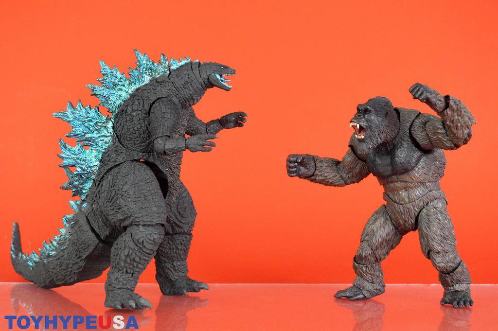 Bandai Tamashii Nations S.H. MonsterArts Godzilla vs King Kong 2021 Figures Review