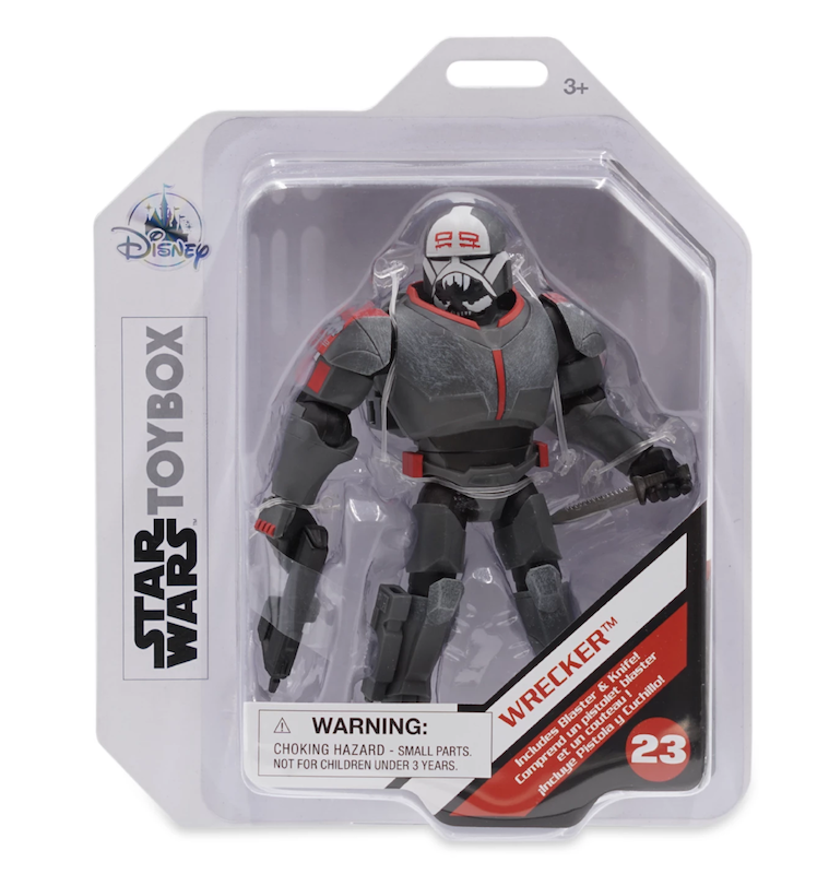 Disney Store Exclusive – Star Wars: The Bad Batch – Toy Box Wrecker Figure Back In-Stock