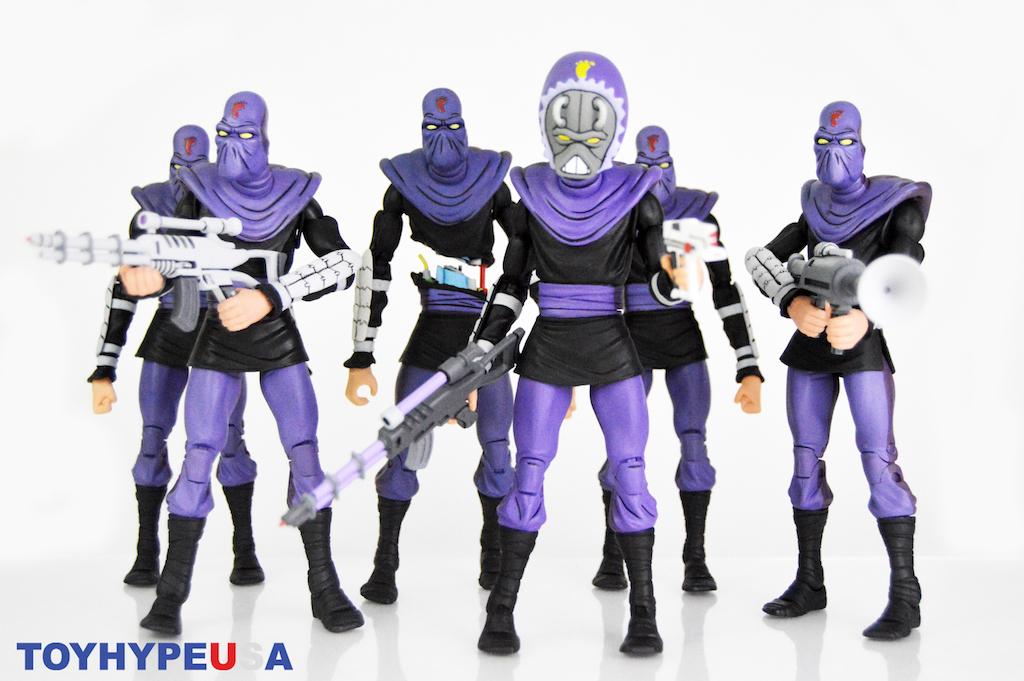 NECA Toys Teenage Mutant Ninja Turtles Classic Cartoon Series Ultimate Foot Soldier Figure Review