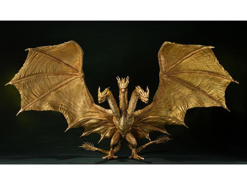 Bandai Tamashii Nations Godzilla: King of the Monsters S.H. MonsterArts King Ghidorah (Special Color Version) Figure Pre-Orders
