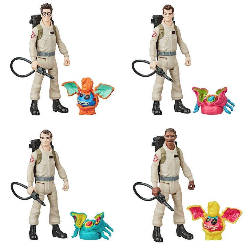 Hasbro Ghostbusters Fright Feature Wave 1 & 2 Figures