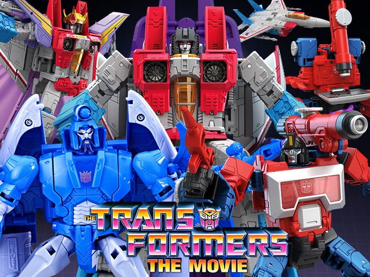 Hasbro Transformers Studios Series '86 Starscream, Sweep & Perceptor Figure Pre-Orders