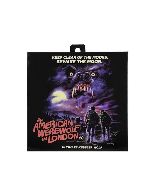 NECA Toys An American Werewolf In London Kessler Werewolf Figure In-Packaging