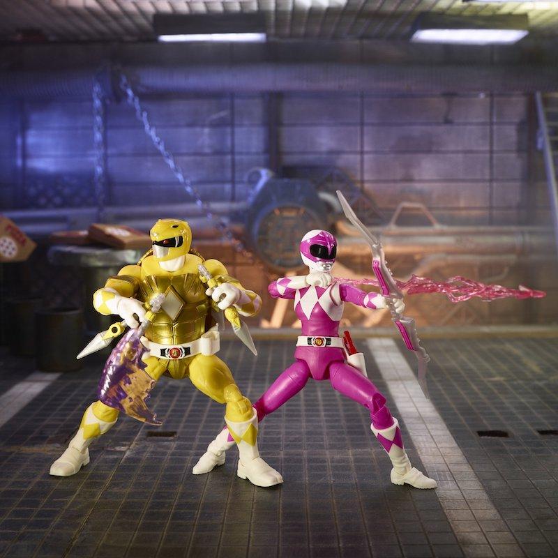 Hasbro Teenage Mutant Ninja Turtles x Power Rangers 6″ April & Mikey Figure Pre-Orders