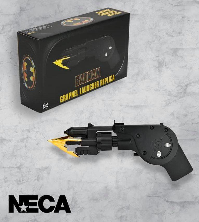 NECA Toys Batman 1989 Movie Grapnel Launcher Replica