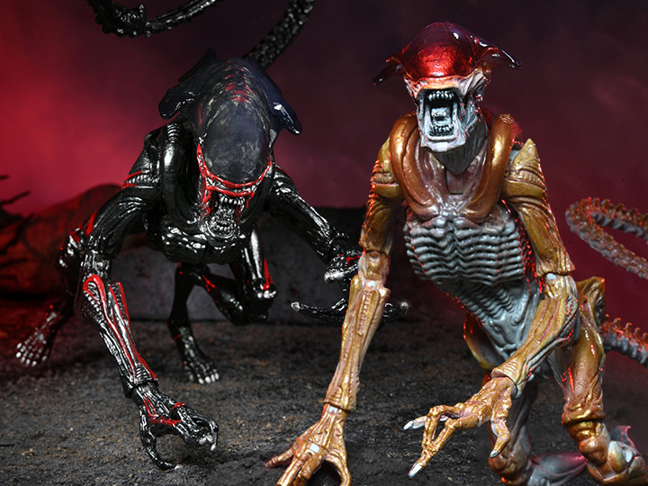 NECA Toys Aliens – Kenner Inspired Panther & Night Couger Aliens Figure Pre-Orders