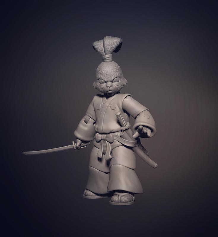 NECA Toys Announces Teenage Mutant Ninja Turtles Usagi Yojimbo Figure
