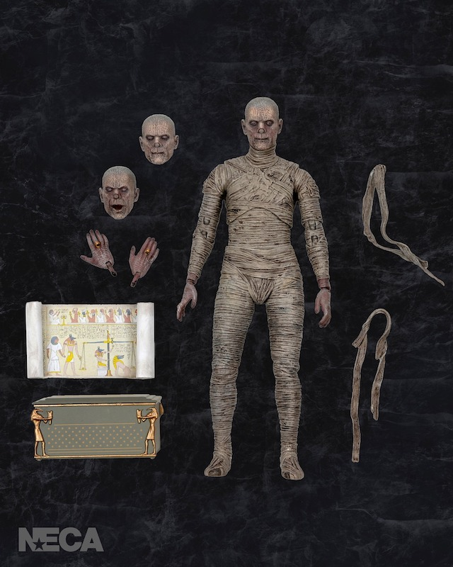 NECA Toys Universal Monsters – The Mummy 7″ Scale Figure Pre-Orders