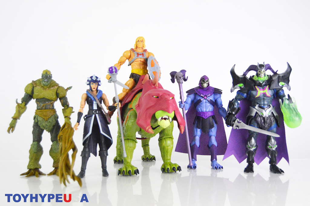 Mattel – Masters of the Universe Revelation Masterverse Wave 1 Figures Review