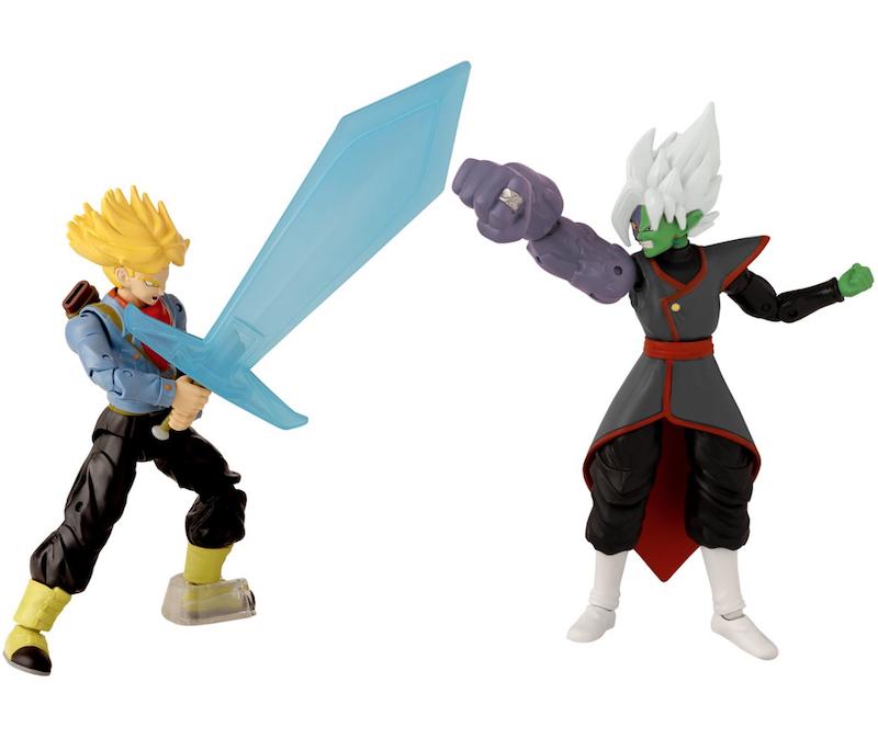 Bandai America – Dragon Ball Super Dragon Stars Battle Pack Future Trunks vs. Fusion Zamasu Figure 2-Pack Available Now