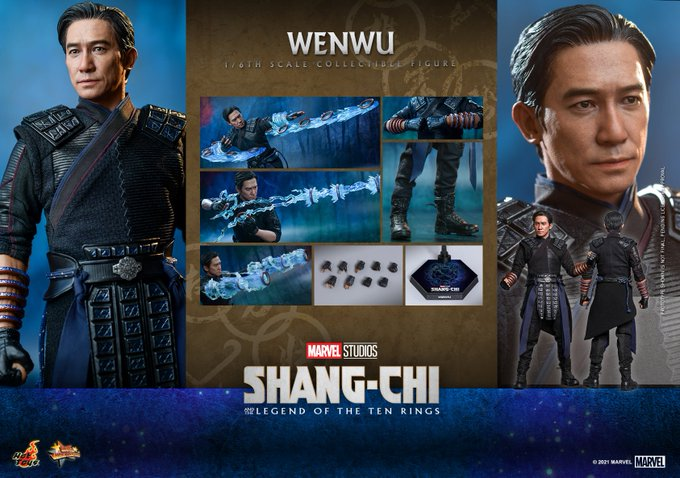 Hot Toys Shang-Chi and the Legend of the Ten Rings – Wenwu Sixth Scale Figure Pre-Orders