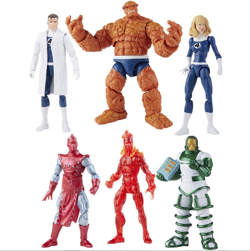 Hasbro Marvel Legends 6″ Fantastic Four Retro Carded Figures Pre-Orders