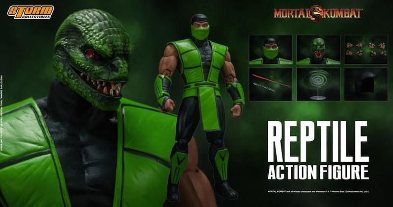 Storm Collectibles Mortal Kombat vs Series Reptile 1/12 Scale Figure Pre-Orders On Amazon