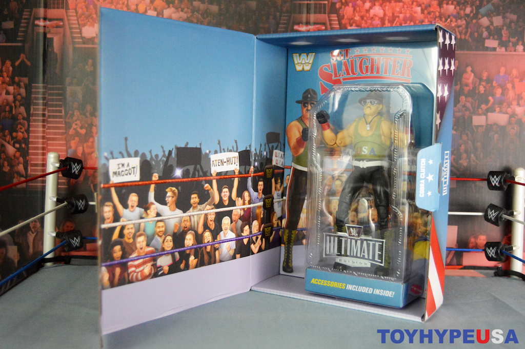 Mattel SDCC 2021 Exclusive – WWE Ultimate Edition Sgt. Slaughter Figure Review