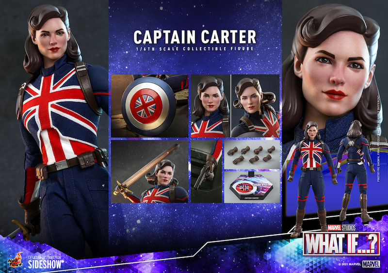 Hot Toys Marvel What If…? Captain Carter Sixth Scale Figure Pre-Orders