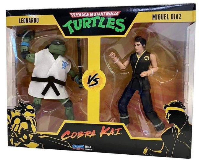 Playmates Toys Teenage Mutant Ninja Turtles x Cobra Kai Figure 2-Packs