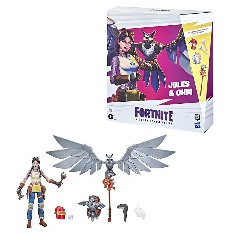 Hasbro Announces New Fortnite Jules & Ohm Action Figures