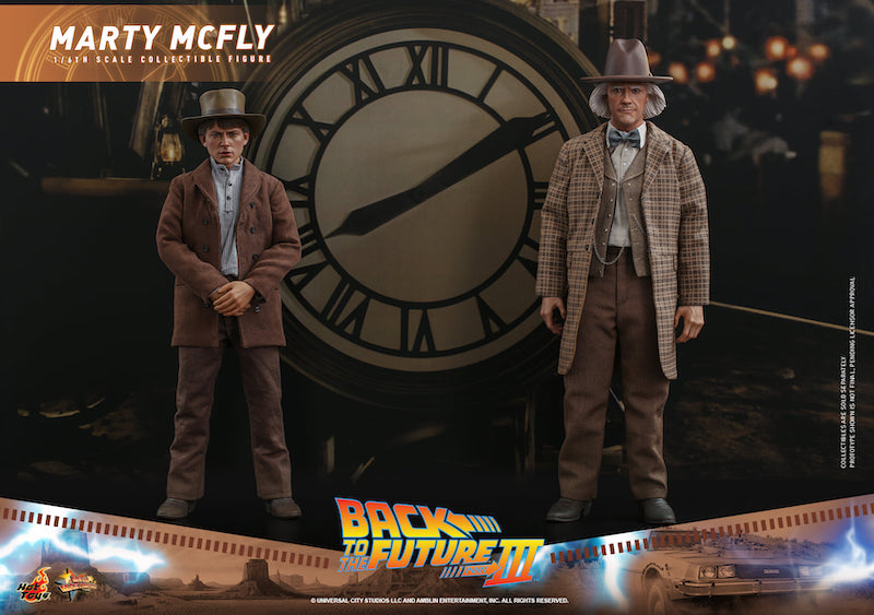 Hot Toys Back to the Future 3 – Marty McFly & Doc Brown Sixth Scale Figures Pre-Orders