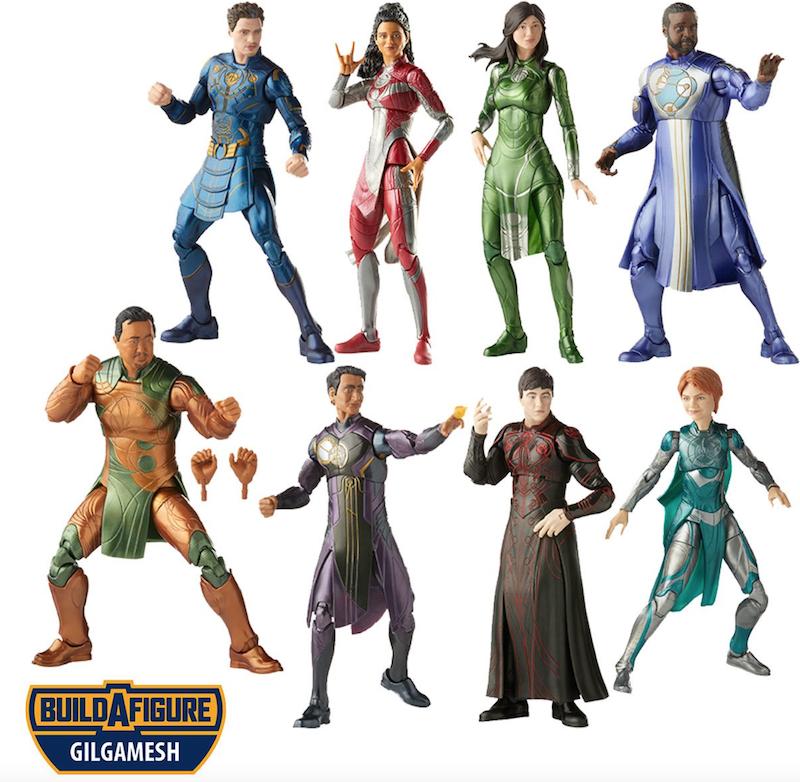 Hasbro Marvel Legends 6″ Eternals Wave 1 Figures Available Now