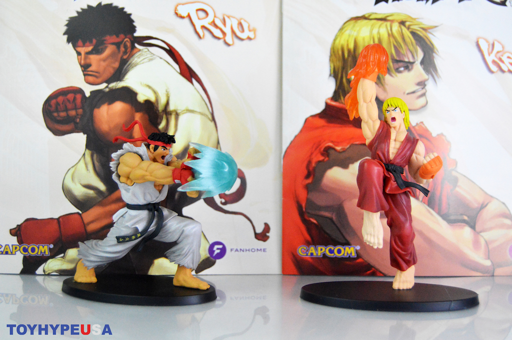 FanHome Street Fighter Subscription Box #1 Review