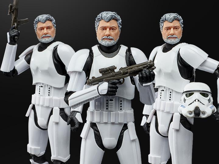 Hasbro Star Wars The Black Series 6″ George Lucas In Stormtrooper Disguise Figure Pre-Orders