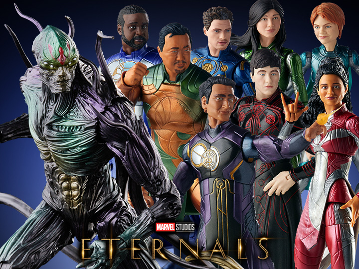 Hasbro Marvel Legends 6″ Eternals Wave 1 & Deluxe Kro Figure Pre-Orders