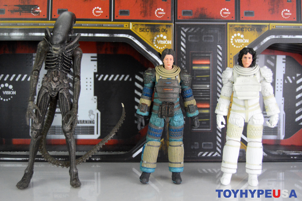 NECA Toys Alien 40th Anniversary Wave 4 Figures Review