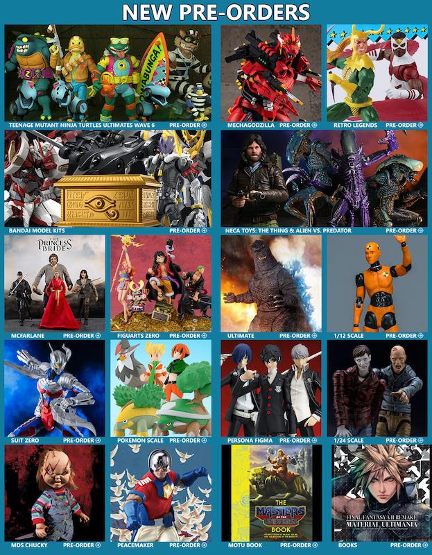 BigBadToyStore News – Bandai Hobby, TMNT, Marvel Legends, EVA Mechagodzilla, Hot Toys, NECA, Persona, DC Multiverse, ThunderCats & More