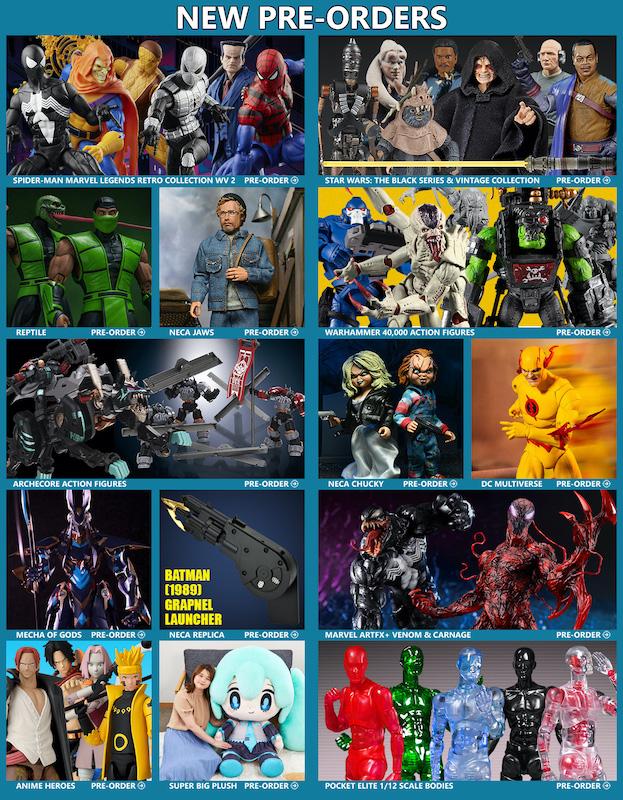 BigBadToyStore News – Spider-Man Marvel Legends, Warhammer 40k, Mortal Kombat, DC Multiverse, Jaws, Star Wars, Anime, NECA, Transformers & More