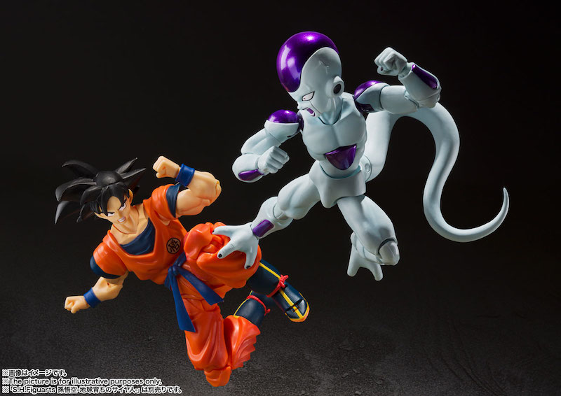 S.H. Figuarts Dragon Ball Z – 4th Form Frieza Figure Gets New Release