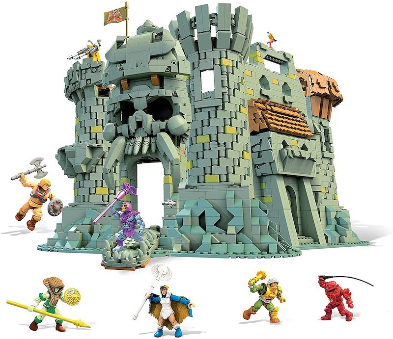 Mega Construx Masters Of The Universe Castle Grayskull Playset Now $274.99 on Amazon
