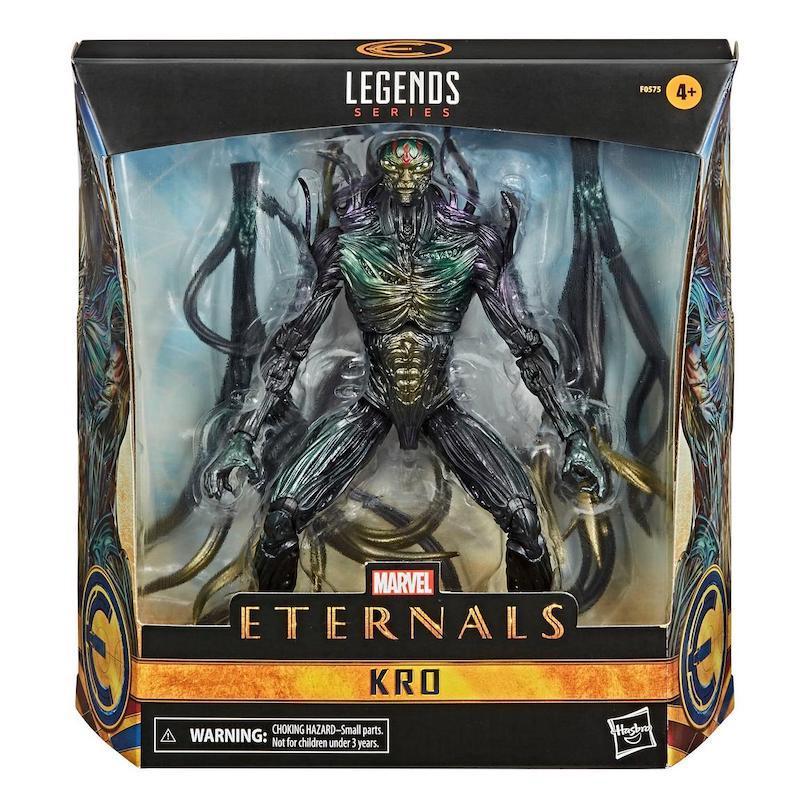 Hasbro Marvel Legends 6″ Eternals Deluxe Kro Figure In-Stock At GameStop