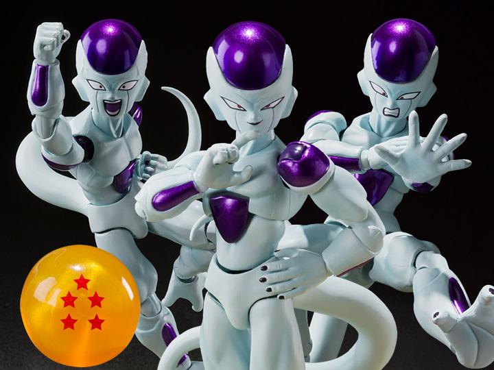 S.H. Figuarts Dragon Ball Z – 4th Form Frieza Figure Pre-Orders