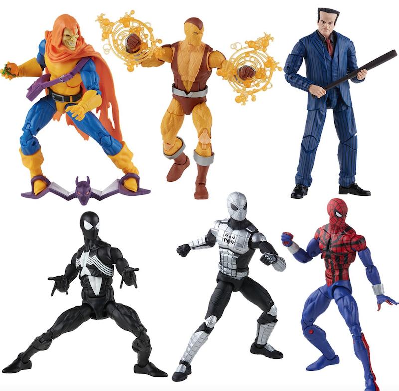 Hasbro Spider-Man Retro Marvel Legends 6″ Figures Wave 2 Pre-Orders