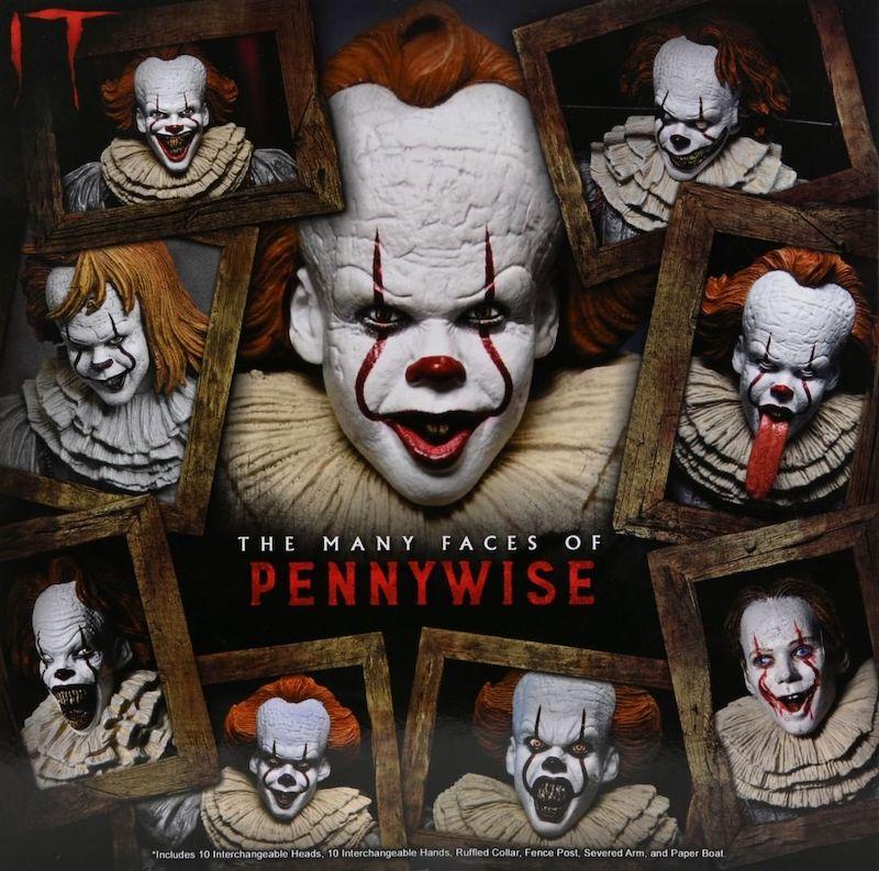 NECA Toys Many Faces of Pennywise Set Revealed
