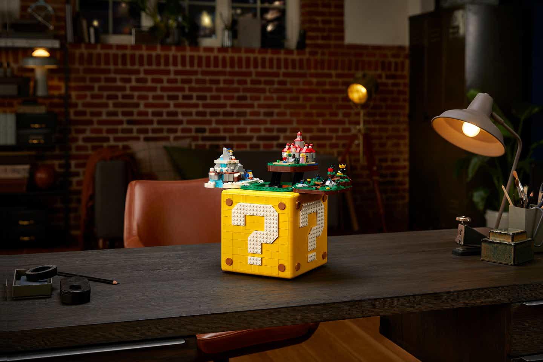 LEGO Announces Super Mario 64 Block Set