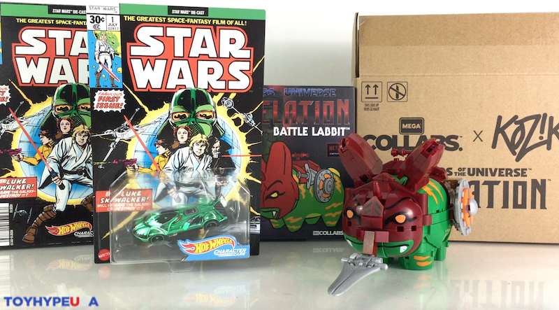 Mattel SDCC 2021 Exclusive – Hot Wheels Star Wars Darth Vader & Masters of the Universe Mega Collabs Battle Labbit Video Review