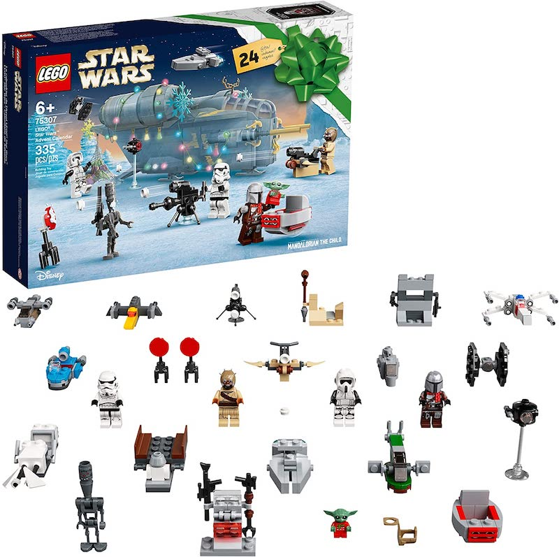 LEGO Star Wars The Mandalorian Advent Calendar 75307 Set In-Stock On Amazon