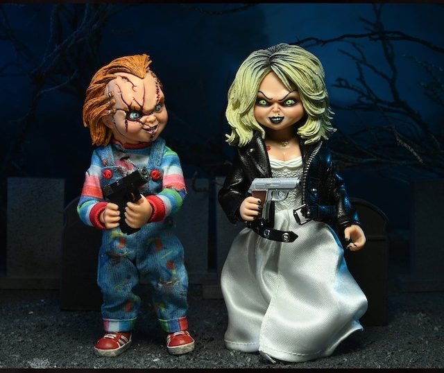 NECA Toys Bride of Chucky – Chucky & Tiffany Clothed Figure 2-Pack