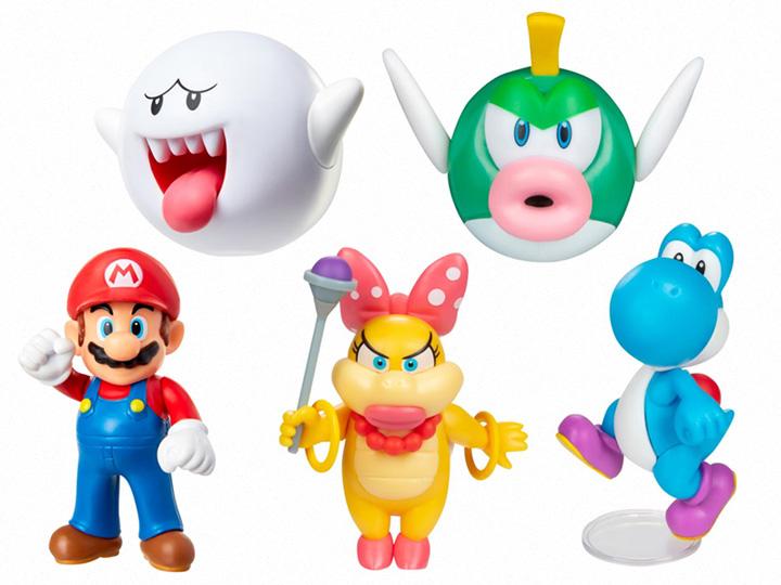 Jakks Pacific World of Nintendo 2.50″ Wave 32 Set of 5 Figure Pre-Orders
