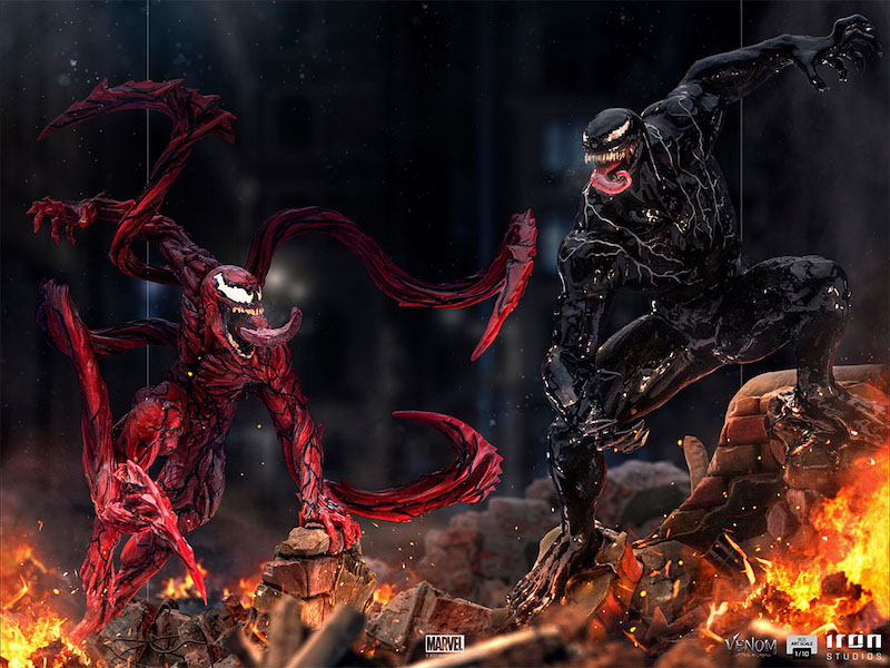 Iron Studios Venom: Let There Be Carnage – Venom & Carnage Statues Pre-Orders