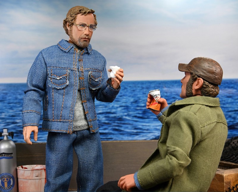 NECA Toys Jaws Hooper 8″ Clothed Figure Pre-Orders