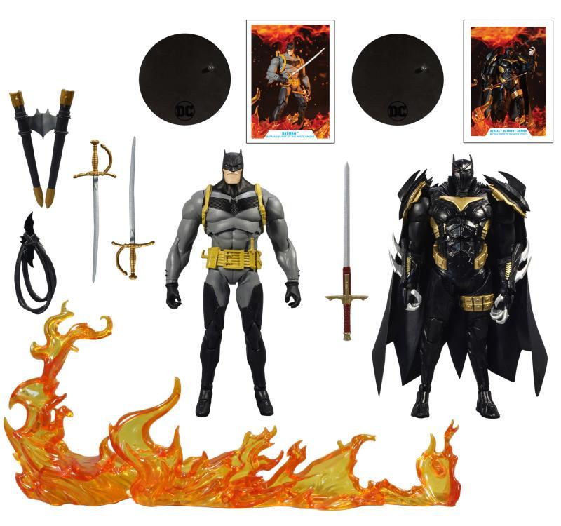 McFarlane Toys DC Multiverse Batman: Curse of the White Knight – Batman vs. Azrael Batman Armor 2-Pack Pre-Orders