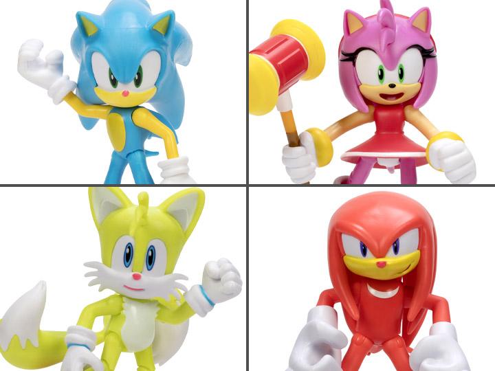 Jakks Pacific Sonic The Hedgehog 30th Anniversary 4″ Wave 6 Figures Pre-Orders