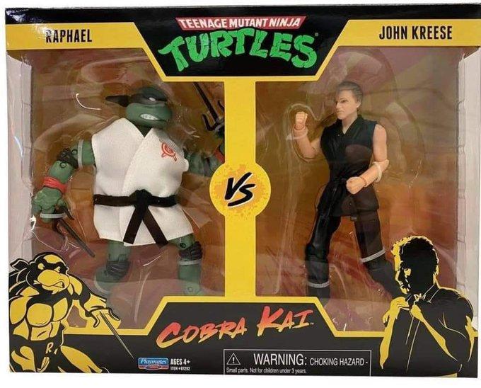 Playmates Toys Teenage Mutant Ninja Turtles vs. Cobra Kai 2 Packs Pre-Orders