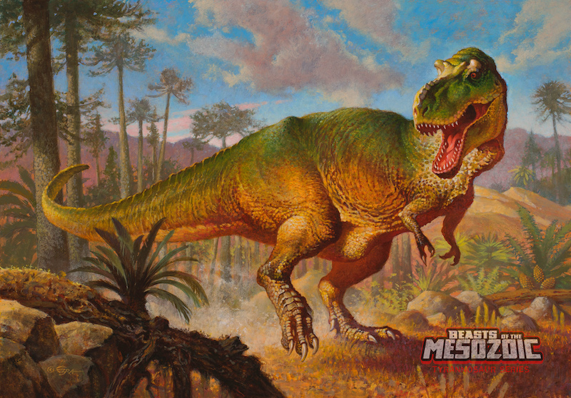 T-Rex Action Figures Inspired by Dino Riders & Walking With Dinosaurs Launch Today