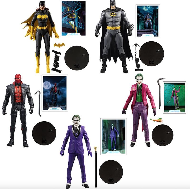 McFarlane Toys DC Multiverse Batman: Three Jokers Wave 1 Figure Pre-Orders