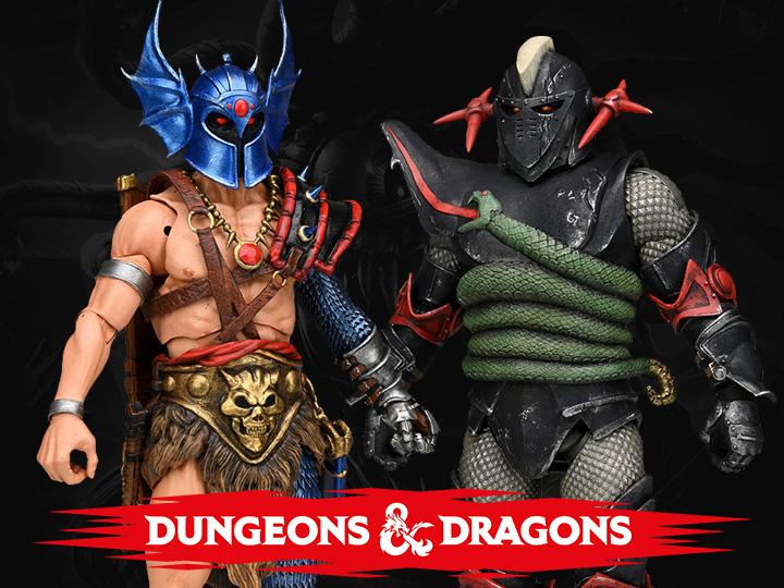 NECA Toys Dungeons & Dragons Ultimate Grimsword & Warduke Figure Pre-Orders
